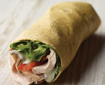 Grilled Chicken Roll Up